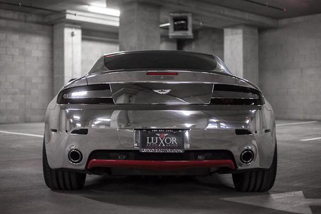 Aston Martin V8 Vantage Custom Chrome Planetcarsz