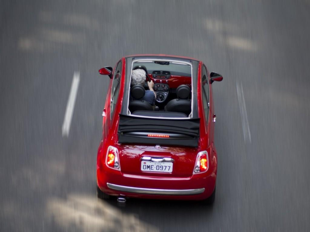 Imagens de Carros FIAT 500 CABRIOLET - PlanetCarsz ...