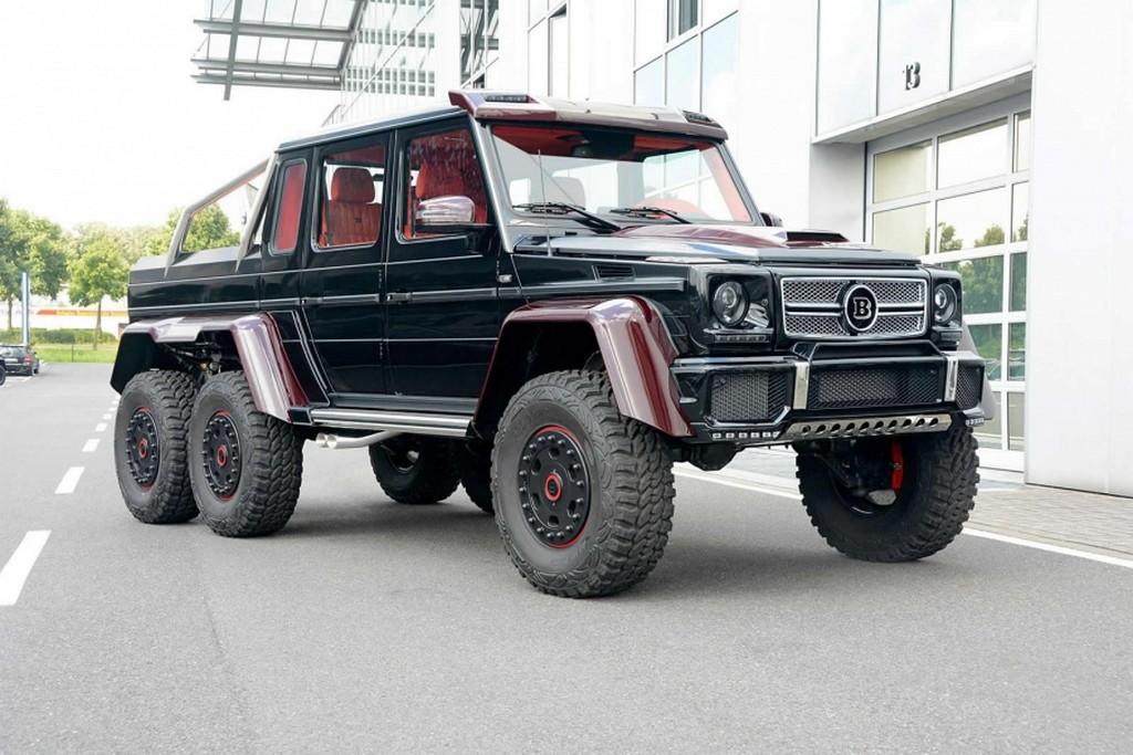 Mercedes Benz G 63 Amg 6x6 Brabus 3 850 Kg E 700 Cv Planetcarsz