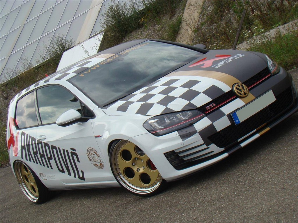 VOLKSWAGEN GOLF VII GTI TVW CAR DESIGN